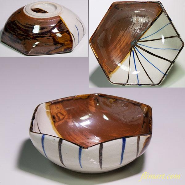 六角小鉢W4621