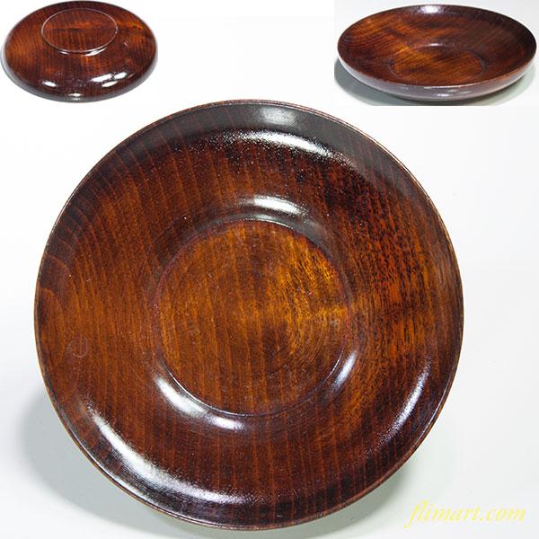 木製茶托五点セットW4649