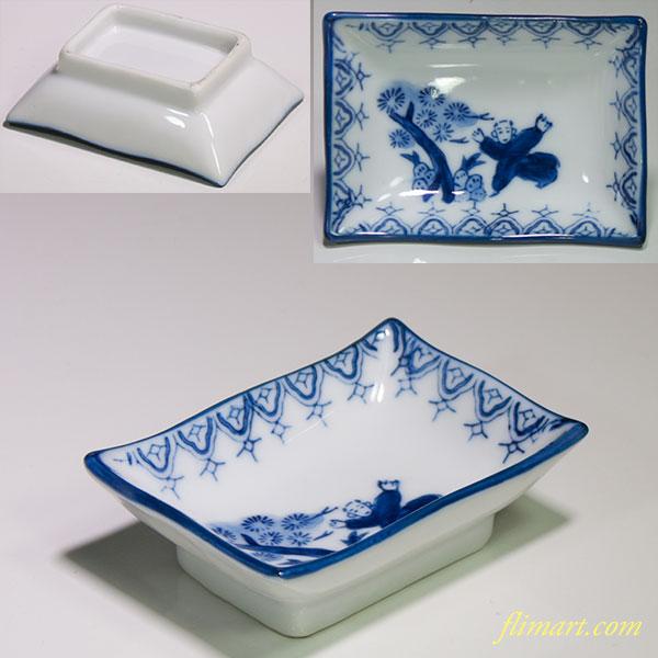 唐子豆皿W4648