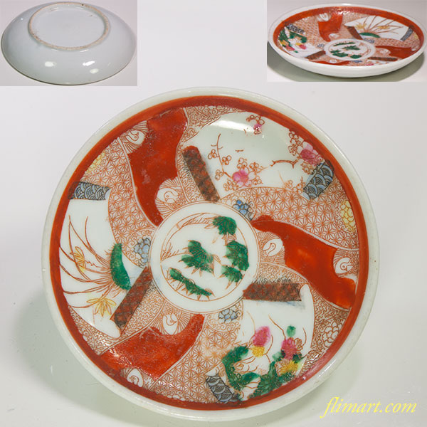 色絵豆鉢W5013