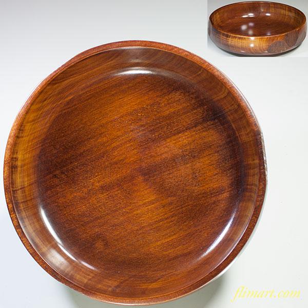 木製菓子鉢W4840