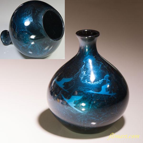 高岡銅器鋳銅瑞峰堂花瓶