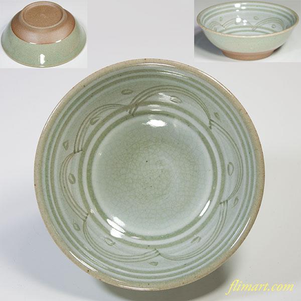 たち吉青磁小鉢W4778