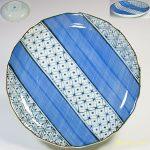 六寸半皿W4818