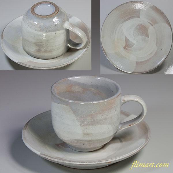 刷毛目碗皿W4895