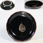 飴釉小皿W4908