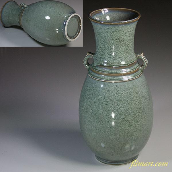 耳付花瓶W4931