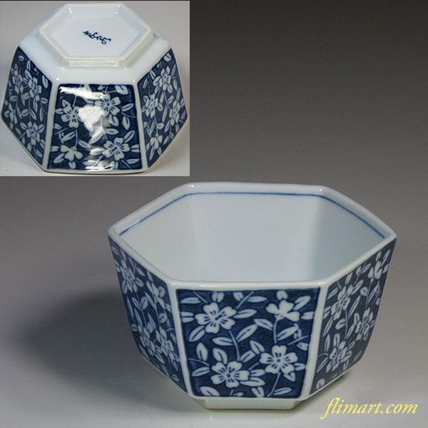 六角小鉢W4932