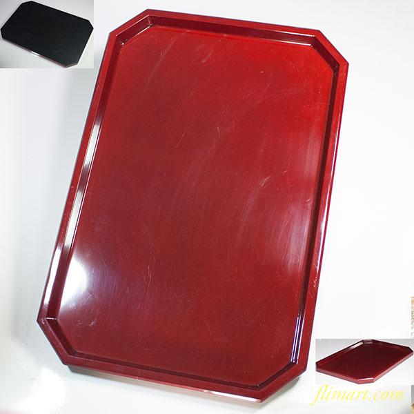 木製朱塗漆器長盆W5022