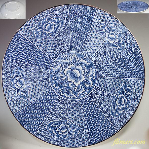 一尺三寸大皿W5027