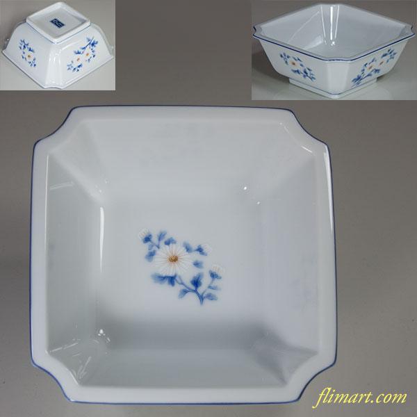乃りたけノリタケ菊角鉢