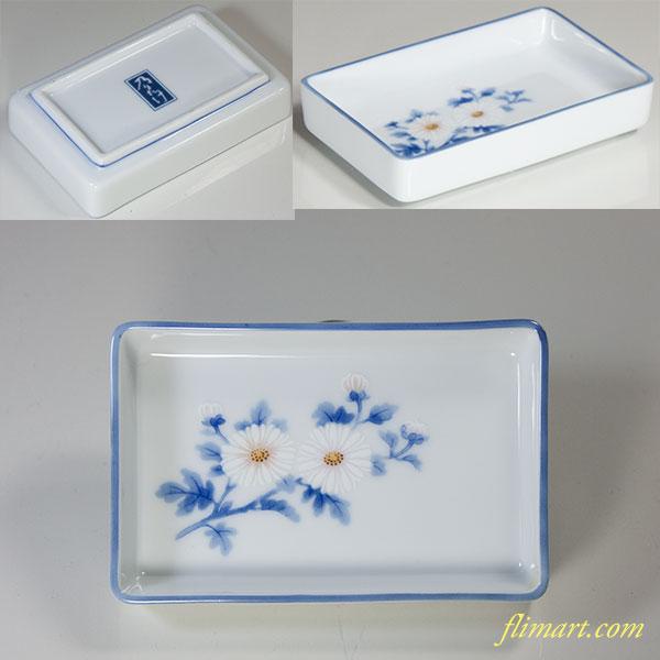 乃りたけノリタケ菊豆皿