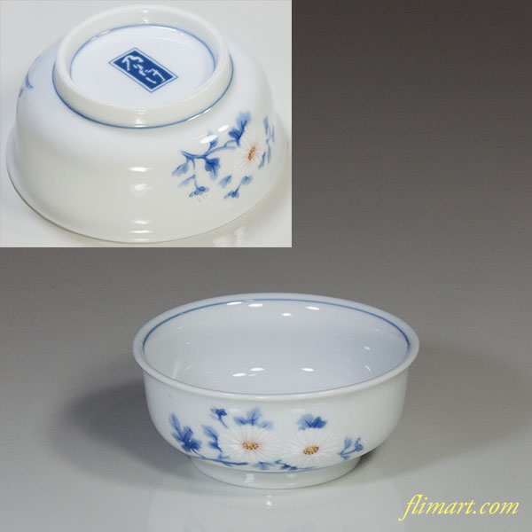 乃りたけノリタケ菊豆鉢