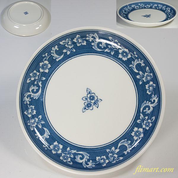 たち吉藍牡丹銘々皿五寸皿