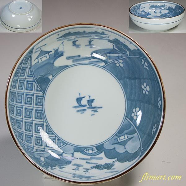 山水丼鉢W5188