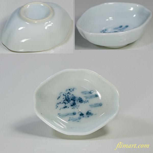 舟形豆皿W5187