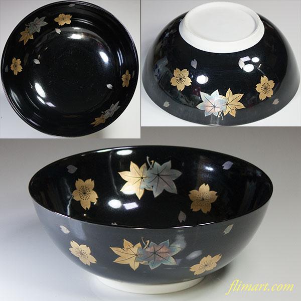桜紅葉菓子鉢W5180