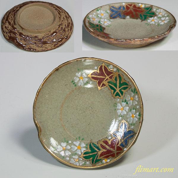 犬山豆皿W5207