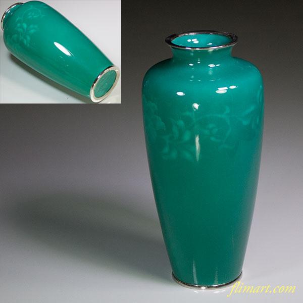 田村七宝花瓶W5227