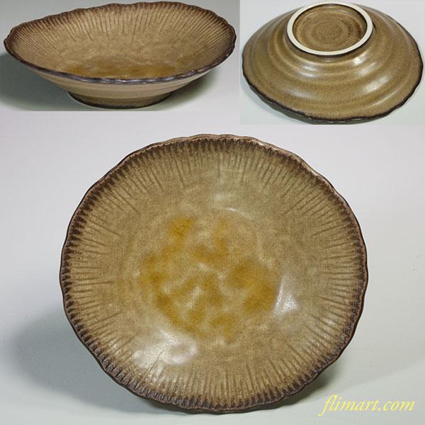 楕円小皿W5219