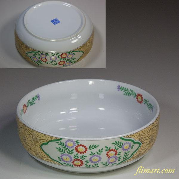 吾山窯五寸鉢W6163