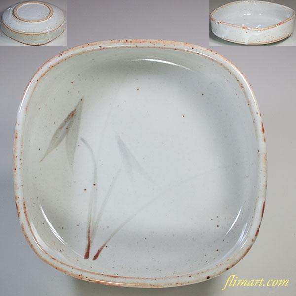 志野菓子鉢W5277