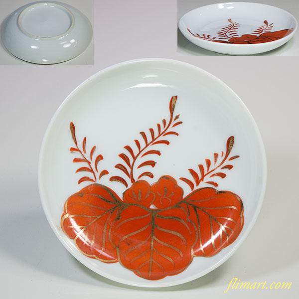 赤桐小皿W5287