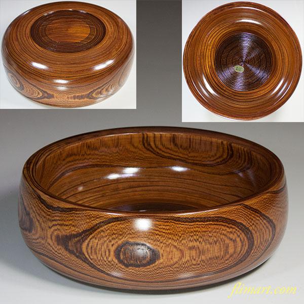 山中漆器彰宣堂木製菓子鉢