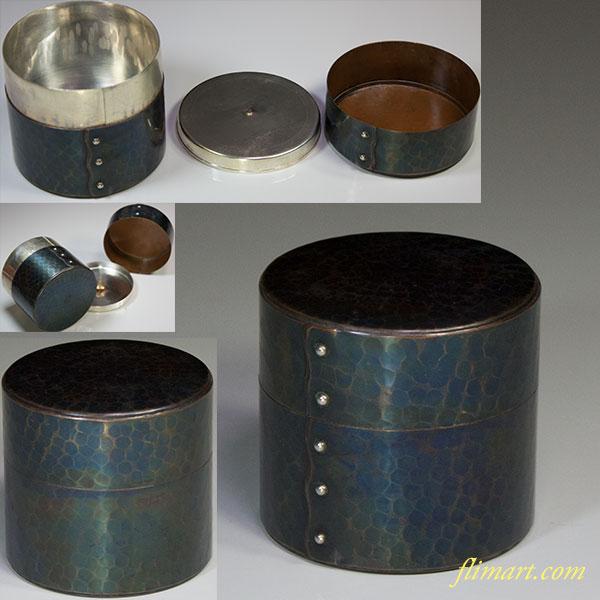 玉川堂鎚起銅器茶筒