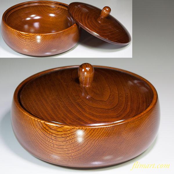 木製菓子器W5432
