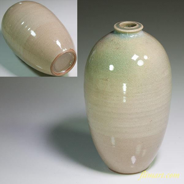 青磁花瓶W5434
