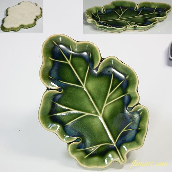 葉型小皿W5468