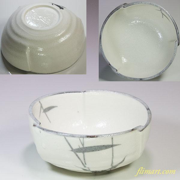 赤津焼京峰作小鉢W5507