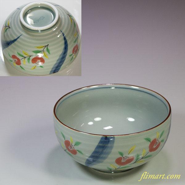 有田焼風の木窯飯茶碗W5500