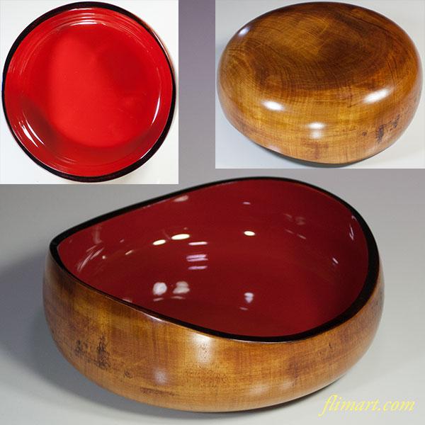 山中塗菓子鉢