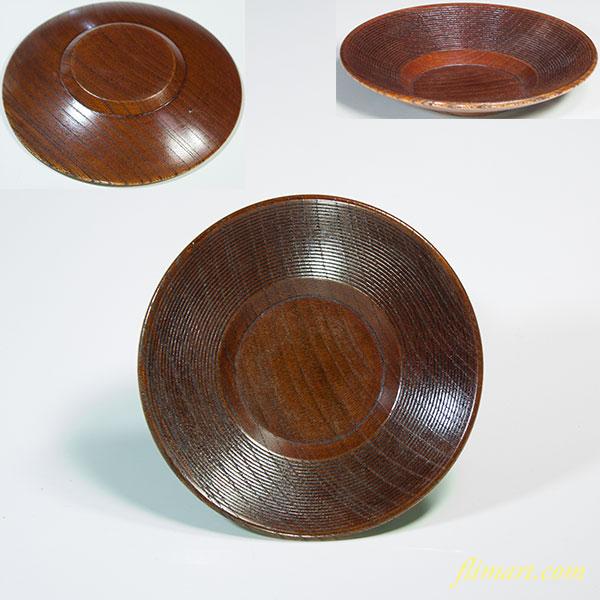 木製茶托五点セットW5528