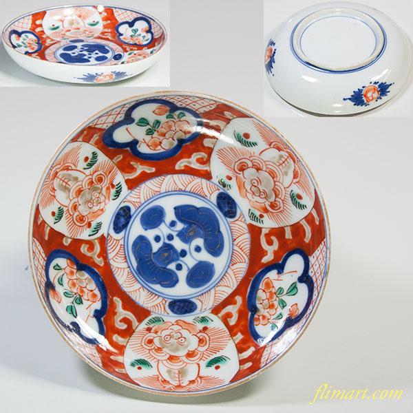 色絵小皿W5511