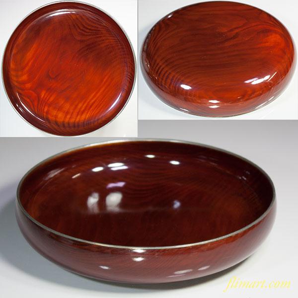 木製漆器菓子鉢W5554