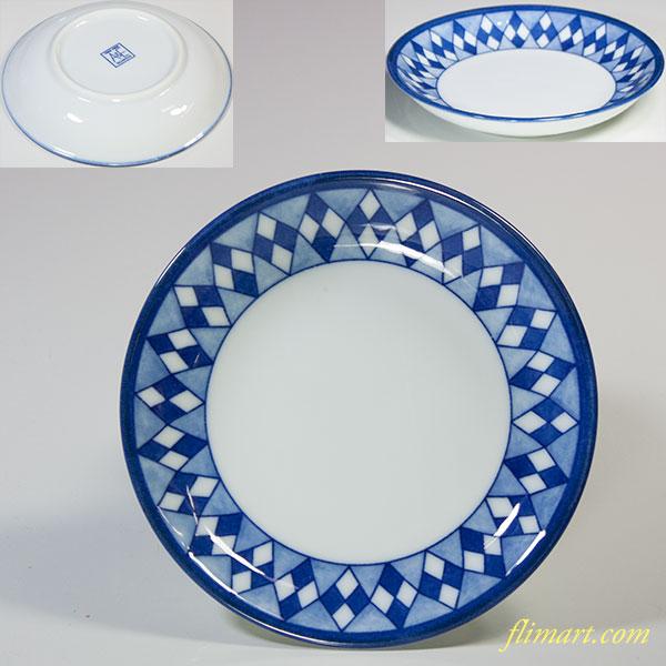 たち吉アダム&イブ豆皿W5573
