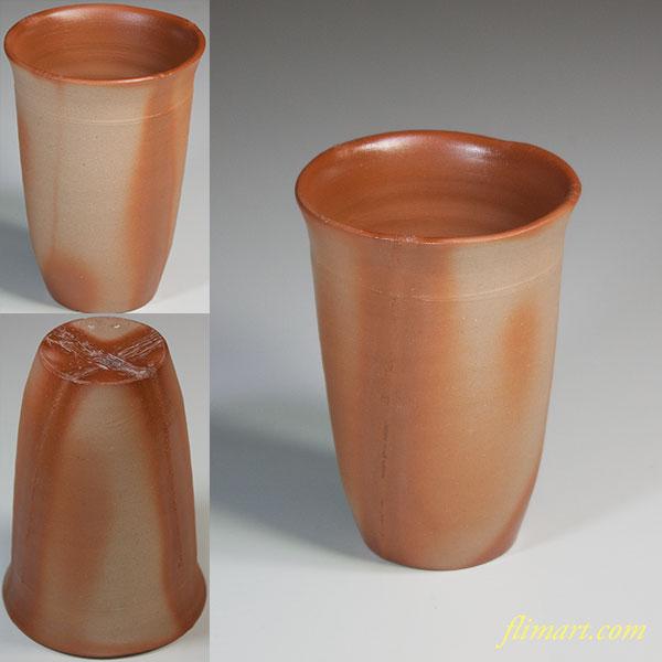 備前焼緋襷ビアマグカップ