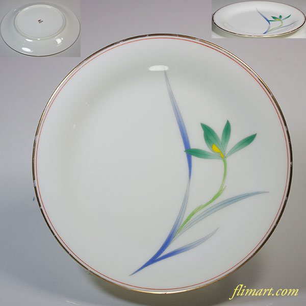 香蘭社五寸半皿