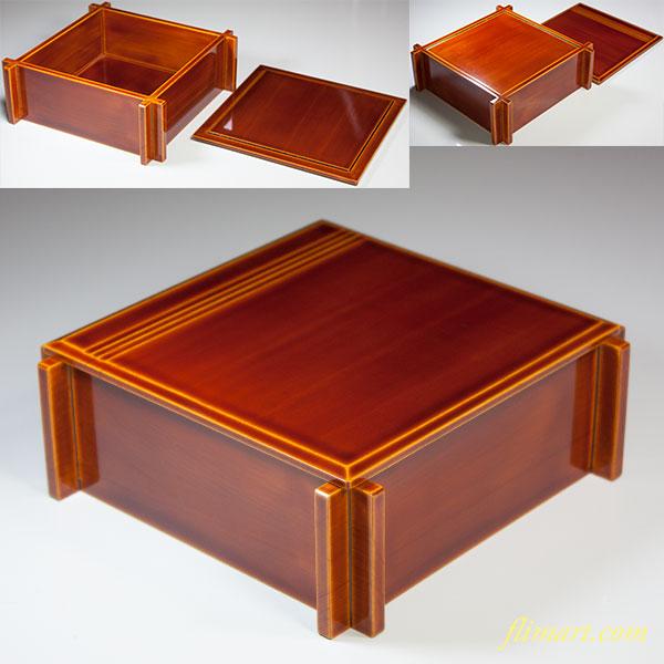 春慶塗重箱W5617
