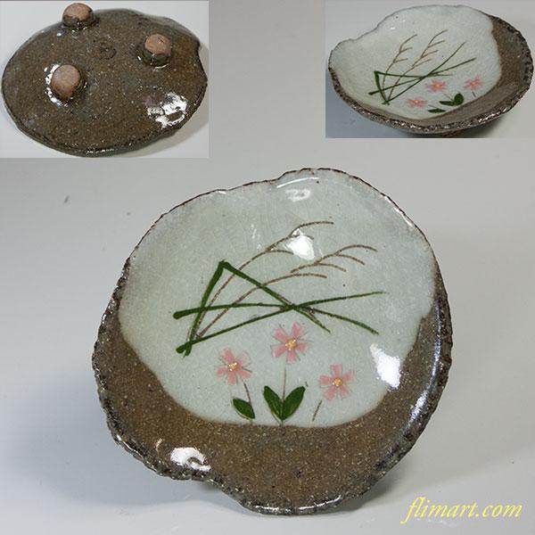 三つ足豆皿