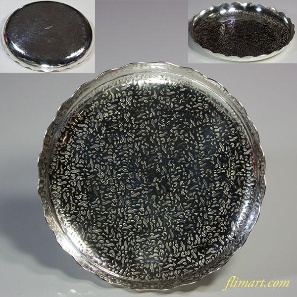 ステンレス菓子皿五枚セットW5711