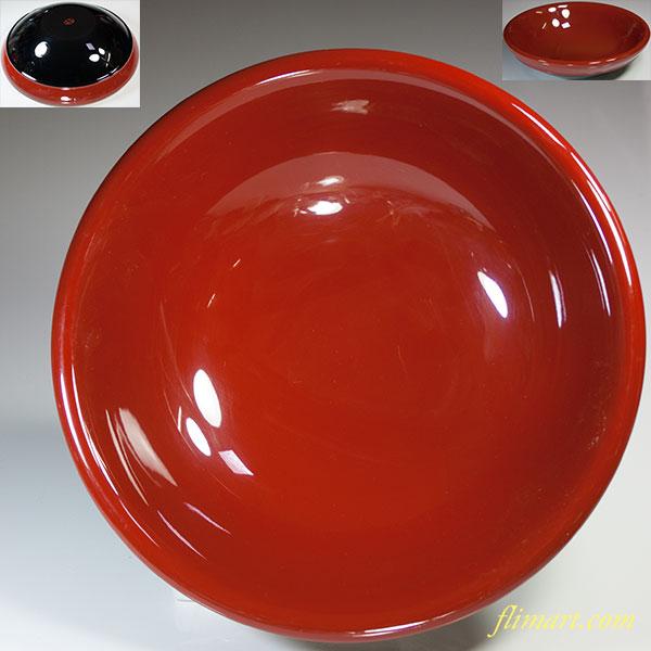 琉球漆工芸菓子鉢W5715