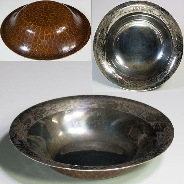 鎚起銅器小鉢