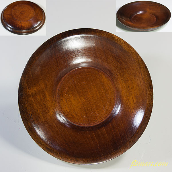 木製茶托W5748