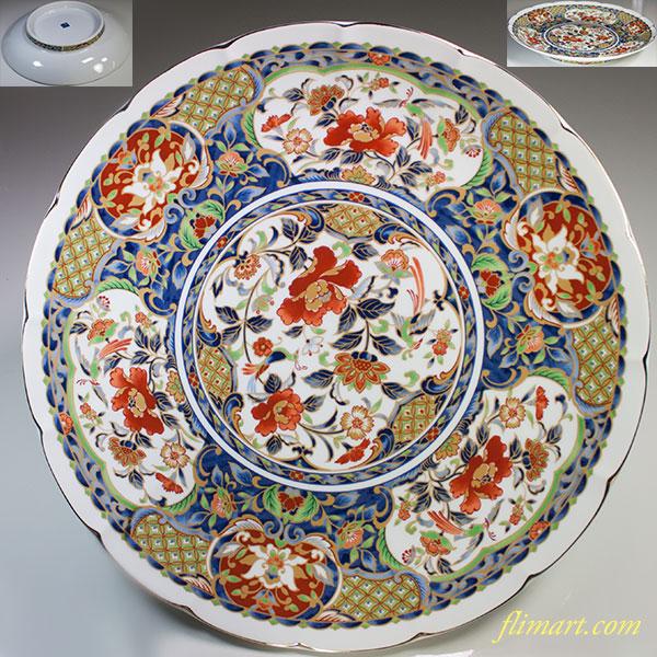 大喜陶苑一尺二寸大皿