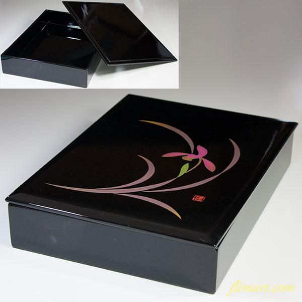 会津塗木製漆器紫蘭文庫
