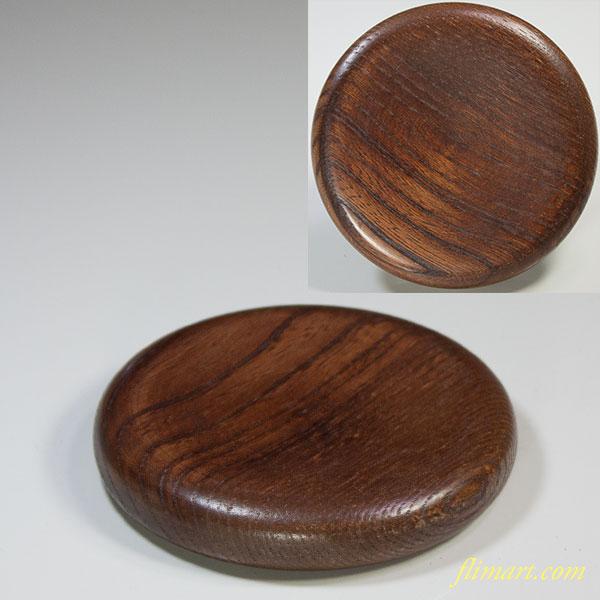 木製茶托コースター